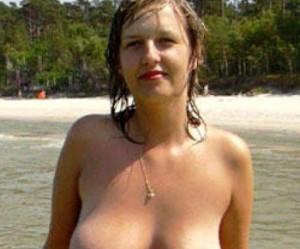 Topless op het strand in Nederland